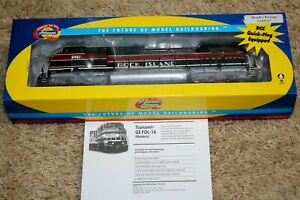 Athearn RTR ROCK ISLAND C44-9W, ROAD NUMBER 5407 RARE, TSUNAMI DCC/SOUND, HO