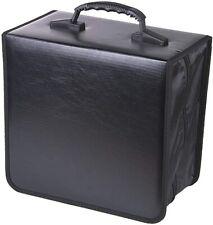 520 Disc CD DVD Organizer Holder Storage Case Bag Wallet Album Media Video Black