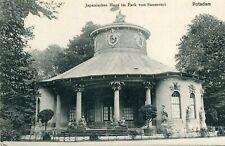 Carte ALLEMAGNE POTSDAM Japanisches Haus im Park von Sanssouci