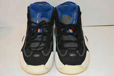 Nike Air Max Penny B Men's 624017 041 Black Blue White Basketball Shoes Size 8.5