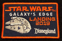 Disneyland Star Wars Galaxy's Edge Landing 2019 Patch