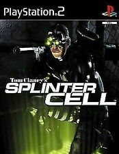 Tom Clancy's Splinter Cell ( PS2 Sony Playstation 2 ) Disk Only TESTED
