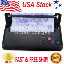 Pro Black Tattoo Transfer Copier Printer Machine Thermal Stencil Paper Maker USA