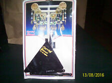 """Packaged: Small Black Plastic """"Charming Stand"""" Jewelry Display Stand  SeePic"""