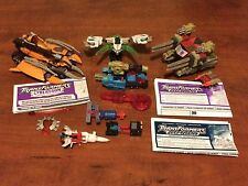 Transformers Armada, Energon, Cybertron Lot: Unicron, Minicon Space Team & more