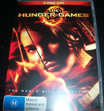 The Hunger Games (Australian Region 4) 2 Disc Edition DVD - Like New