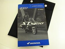 2007 HONDA ST1300 OWNERS MANUAL AND BAG POUCH ST 1300