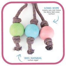 Beco Mascotas Eco Friendly Bola en Cuerda, grande, rosa, Servicio Premium, envío rápido