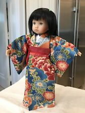 "10"" Doll Boneka Dianna Effner Tuesday's Child Kimono 4 piece Dress Set 24cm"