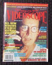 2002 VIDEOSCOPE Horror Movie Magazine #41 VF- Millenium Cover
