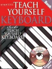 Step One: Teach Yourself Keyboard (2000, CD / Paperback)
