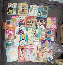 Lot of Vintage 1940's -1990's Paper Dolls Little Annie Oakley Raggedy Anne +more