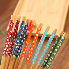 1pairs Chinese Vintage Beautiful Various Pattern Classic Wooden Chopsticks SR