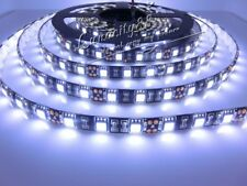 5050 SMD Black PCB 5M 300leds Cool White Waterproof IP65 Flexible Lights Strips
