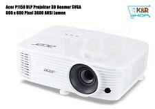Acer P1150 DLP Projektor 3D Beamer SVGA 800 x 600 Pixel3600 ANSI Lumen