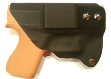 Black IWB Glock 42 Protege Gun Holster (Right-Handed)