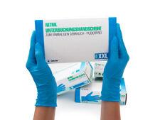 Einweghandschuhe Einmalhandschuhe Nitrilhandschuhe 90 Stück Box XXL Nitril blau