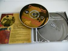 NEW PRINCE TEBAH & THE SONS OF THUNDER : COMMUNICATION DRUMS CD 2003 CARIBSOUND