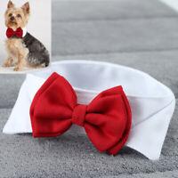 Dog Cat Pet Puppy Teddy Toy Adjustable Bow Tie Necktie Collar Party Clothes