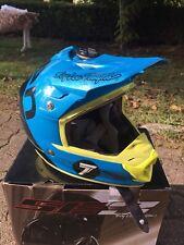 Casco Cross Troy Lee Design Tld Seven Taglia S Motocross Helmet Troylee