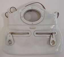 Kate Spade Lincoln Road Libby Cream/Ivory Patent Leather Tote Sling Bag NWOT