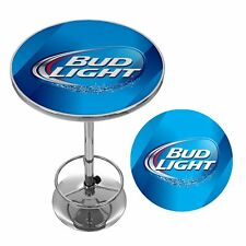 Bud Light Gameroom Bar Pub Garage Table NO TAX Except MN - NEW -  FREE SHIPPING