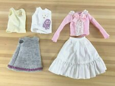 Azone Pure Neemo Ruruko clothes outfit LOT skirt shirt Blythe Obitsu 1/6 figure