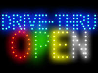 """Gyros Meat Roasted Led Neon Sign Display 15.5/""""X 9/"""""""