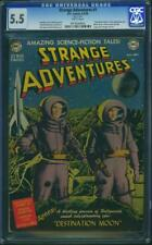 Strange Adventures #1 CGC 5.5 DC 1950 Golden/Silver Classic! WP! H3 915 cm clean