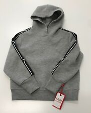 Hunter for Target Kids XS (4-5) Gray Hoodie with design on sleeves NEW with TAGS