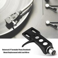 Phono Lp Mount Replacement For Technics Metal Headshell Sl1200 Sl1210 Turntable