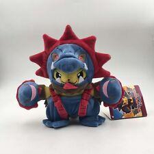 "Hydreigon Pikachu Cosplay Pokemon Soft Plush Toy Three-headed Stuffed Animal 8"""