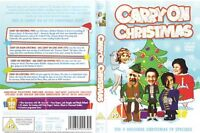 Carry On Christmas (2006) 2 x DVD Set.The 4 Christmas Specials Sid James etc.📺