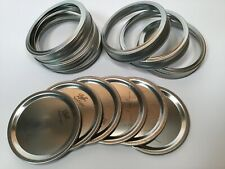Ball Mason Jar Lids and Rings - 96 Count - Wide Mouth