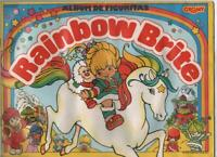 RAINBOW BRITE ALBUM EMPTY + 20 UNNOPENED ENVELOPES  FROM ARGENTINA 1993