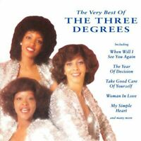 THE THREE DEGREES the very best of (CD, Compilation) Funk/Soul, Disco, very good