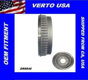 Verto USA Rear Brake Drum For Chevrolet , GMC  DR8846X1