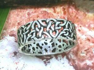 Knoten Triquetra Ring 925 Sterling Silber Triskele Herren Damen