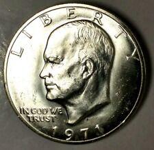 "1971-S $1 Eisenhower Dollar 18hct1304 40% Silver ""BU"" $1.00 Shipping"