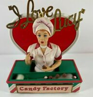 2000 Carlton Cards I Love Lucy Christmas Ornament CANDY FACTORY ANTICS