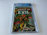 VAULT OF EVIL 6 CGC 9.6 WHITE PAGES INSECT EXTERMINATOR MARVEL COMICS 1973