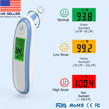 No Touch Infrared Digital Forehead & Ear Thermometer Baby Adult Body Temperature