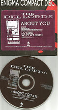 Scott Kempner THE DEL LORDS About you 1990 PROMO Radio DJ CD single USA epro272