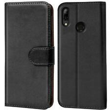 Book Case Huawei Y7 2019 Hülle Tasche Klapphülle Flip Cover Handy Schutz