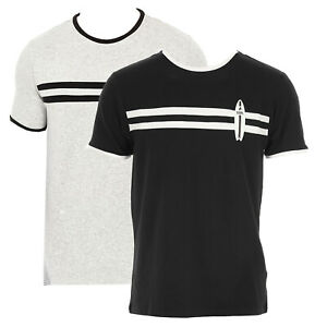 T-Shirt Karl Lagerfeld Surf Regular 100% cotone uomo KL19MTS02-