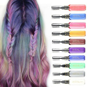 Hair Dye for Girls, Temporary Hair Mascara, Hair Color Chalk, Hair Dye 13 Colors