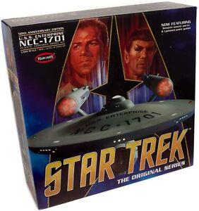 POLAR LIGHTS 938 1/350 Star Trek TOS Enterprise 50th Anniversary