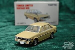 [TOMICA LIMITED VINTAGE NEO LV-N07b 1/64] TOYOTA COROLLA 1500GL (Ivory)