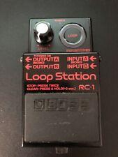 Rare Black Boss RC-1 Loop Station