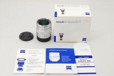 [TOP MINT] Carl Zeiss Biogon T* 21mm f2.8 ZM Silver Leica-M W/Box from Japan C29
